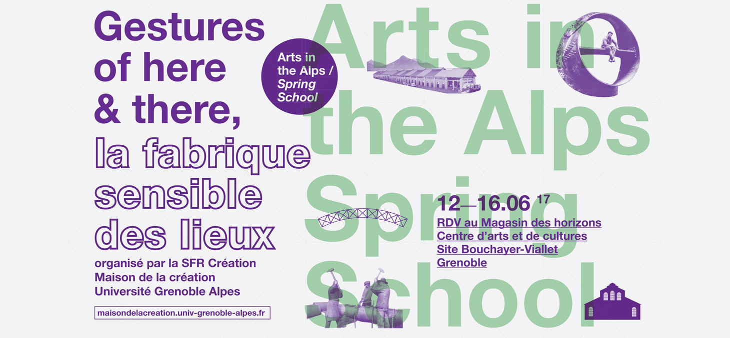 Arts in the Alps : école de printemps doctorale internationale