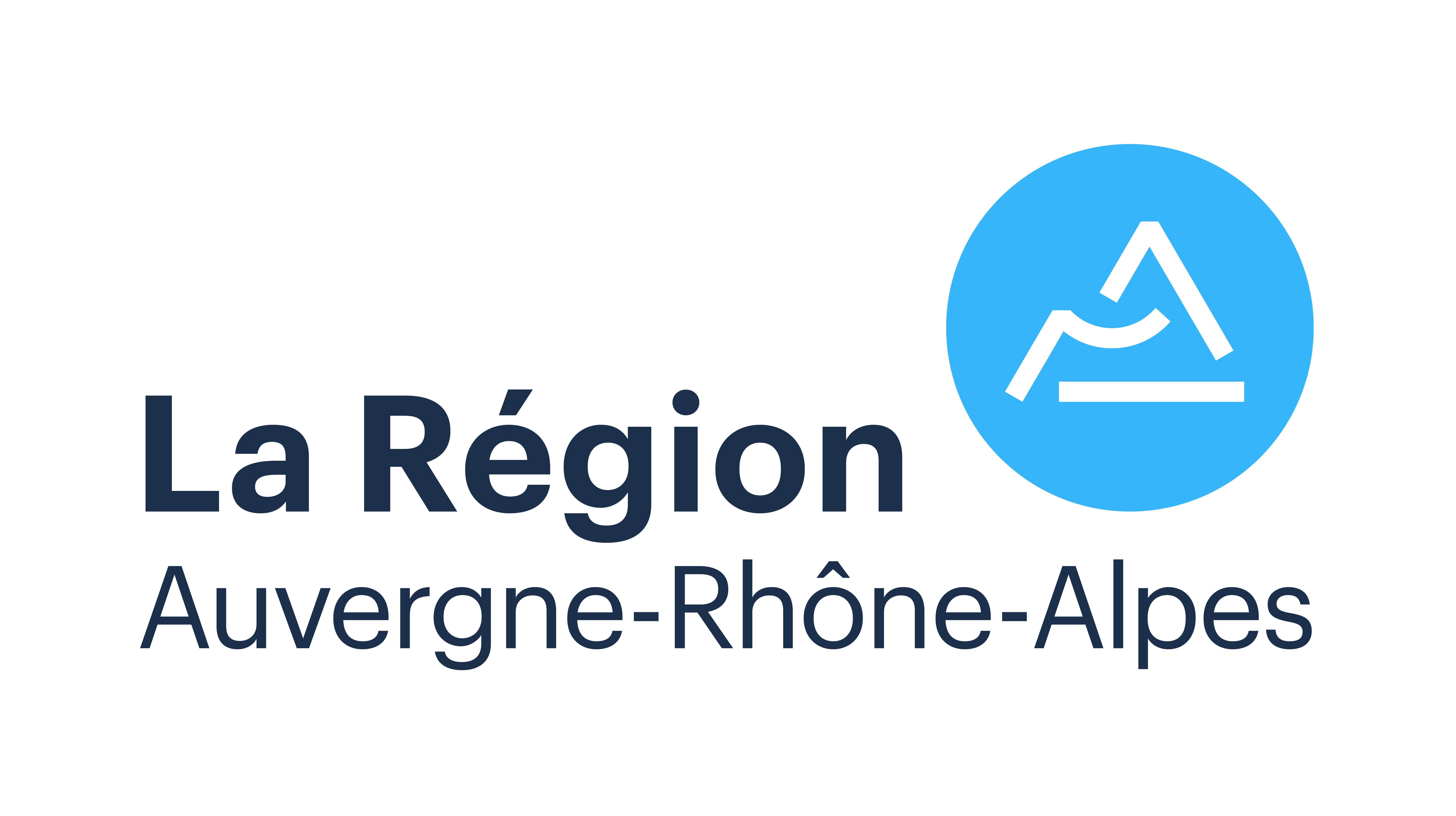 Logo du conseil régional Auvergne Rhône-Alpes