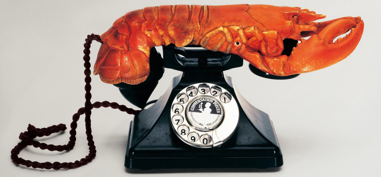 Le Téléphone-Homard © Salvador Dalí